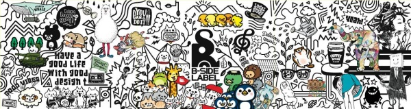 画像1: B-SIDE LABEL